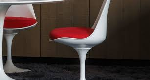 Tulip Chair Iconic Designer Furniture The Tulip Chair And Table Chairish Blog