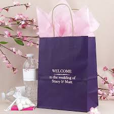 personalized wedding gift bags wedding gift bags personalized 8 x 10 paper hotel wedding