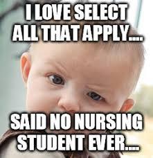 Nursing Student Meme - skeptical baby meme imgflip