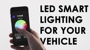 led test light autozone type s plug glow led smart lighting for your vehicle youtube
