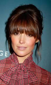 blunt fringe hairstyles the 25 best blunt fringe ideas on hair with