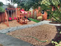 image result for landscaping with wood chips summertime garden