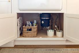 the kitchen sink cabinet organization sink storage ideas tips to organize sink cabinet