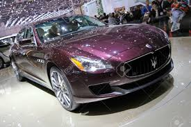 maserati quattroporte custom geneva march 8 violet maserati quattroporte on display at