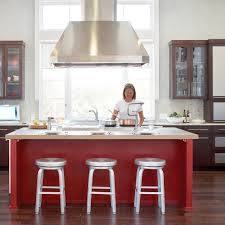 Kitchen Island Red Easy Ways To Decorate With Paint Sunset