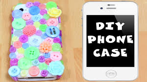 how to decorate a phone case at home hooplakidz hooplahowto