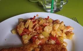 recette ratatouille courgette tomate avec poisson pané économique et