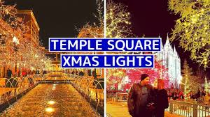 temple square lights 2017 schedule temple square christmas lights salt lake city christmas in utah