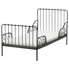 ikea minnen ext bed frame with slatted bed base extendable