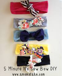 how to make girl bows 5 minute no sew diy headband sew headbands babies and diy headband