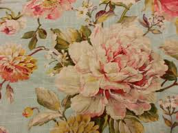Shabby Chic Upholstery Fabric by English Garden Shabby Chic Style French Country Linen Fabric