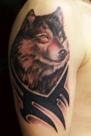 20 excelentes ideas de tatuajes de lobos