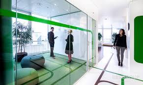 cloisons bureaux vitrophanie decor sur cloisons amovibles verre bureaux arch