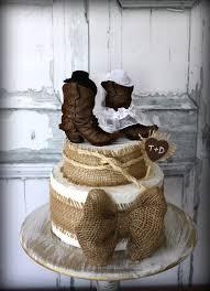 western wedding cakes cowboy boots wedding cake topper rustic wedding western