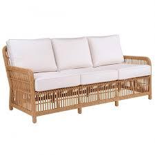kingsley bate havana rattan wicker deep seating sofa