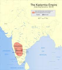India Political Map File Indian Kadamba Empire Map Svg Wikimedia Commons