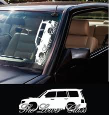 hoonigan stickers on cars 2x large the lower class car silhouette stickers for subaru