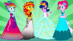 pony equestria girls transform canterlot mane 7
