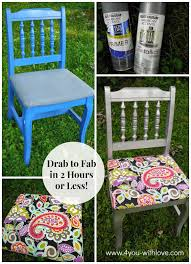 reupholster a dining room chair in 2 hours or less 4 you with love