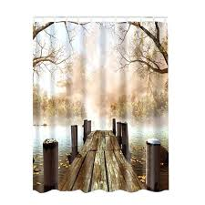 Country Themed Shower Curtains Nature Shower Curtains Home Paintings Pictures Pattern Shower
