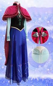 Princess Anna Halloween Costume Frozen Anna Dress Anna Costume Anna Frozen Dress Anna Cosplay