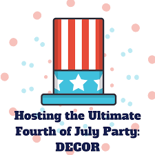 Fourth Of July Tablecloths by Hosting The Ultimate Fourth Of July Party Decor Smiley360