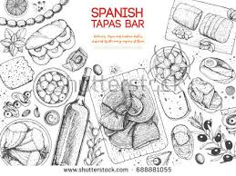 set of spanish drawings download free vector art stock graphics