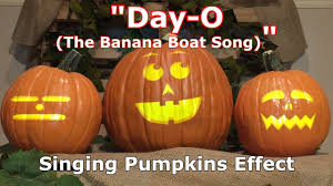 day o singing pumpkins effect animation youtube