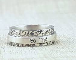 dainty jewelry custom rings personalized gifts by emilyjdesign