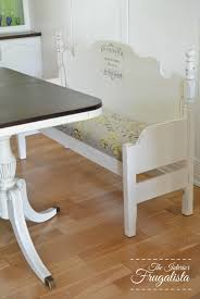 Bench From Headboard From Headboard To Dining Bench The Interior Frugalista From