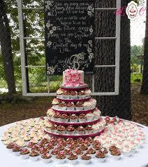 wedding cupcake tower wedding cakes in marietta parkersburg more heavenly