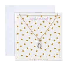 make a gift card johnny rosie make a wish necklace gift card