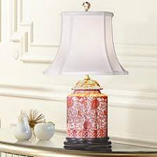 red table lamps lamps plus