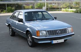opel commodore c senator