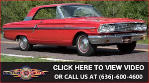 1964 ford fairlane 500 289 sold youtube