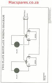 thermostat circuit wiring diagram components