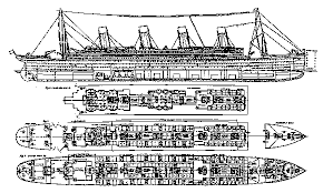 coloring pages of the titanic coloring pages titanic plans approve in principle the design plan