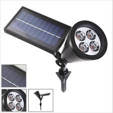 Outdoor Solar Landscape Lights Solla Led Solar Spotlight 200 Lumens Bright Led Landscape