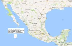 Zacatecas Mexico Map by Security Exchange 24