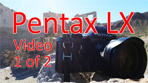 pentax lx video manual 1 of 2 youtube