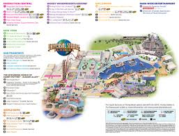 2017 halloween horror nights map universal studios florida