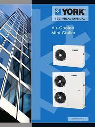 air cooled mini chiller tm yac 0114 c heat exchanger gas