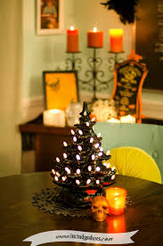 black trees for halloween if you can dream it you can diy from vintage ceramic christmas