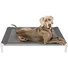 Elevated Dog Beds For Large Dogs Amazon Com The Original Elevated Pet Bed By Coolaroo Large