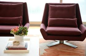 Purple Accent Chair Seattle Purple Accent Chair Living Room Modern With Brown Leather