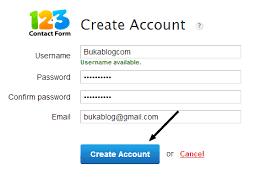 membuat form html online cara membuat formulir registrasi pendaftaran online bukablog
