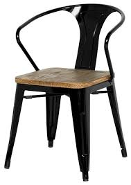 Industrial Dining Chair Industrial Dining Chairs Pertaining To Metal Ideas 15