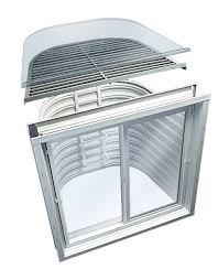 Basement Well Windows - window systems boman kemp basement window wells and window well