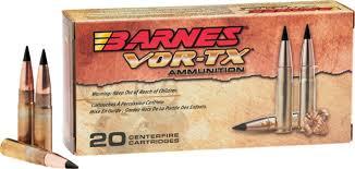 Barnes Tipped Tsx Barnes Vor Tx Rifle Ammo Bb300aac1 300 Aac Blackout Tac Tx Fb