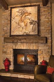 rustic fireplace designs stone fireplace ideas modern concept